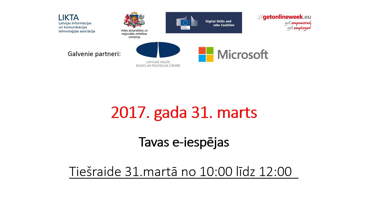 Tiešraides slaids-31.03.2017